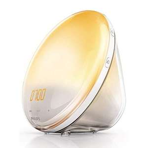 Philips Wake-up Light with Coloured Sunrise Simulation and 7 Natural Sounds £79.74 at Amazon