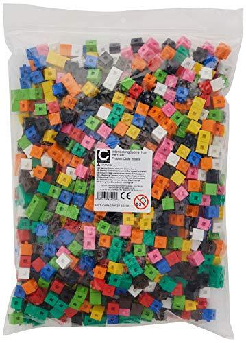 EDX Education Interlocking Cube, 1 cm (Pack of 1000) £8.45 (Prime) + £4.49 (non Prime) at Amazon
