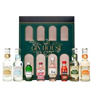 Gin Gift Set Flavoured Gin and Fentimans Tonic - Gordons Pink Gin, Edinburgh, Tanqueray, Beefeater Orange - £12.60 (+£4.49 NP) @ Amazon