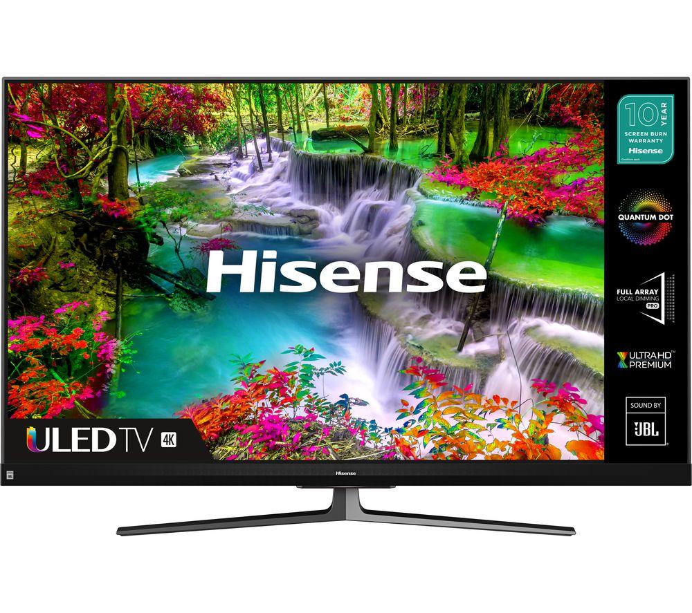 Hisense 55U8QFTUK 55 Inch QLED 4K Ultra HD Smart TV £599.99 (Membership Required) @ Costco