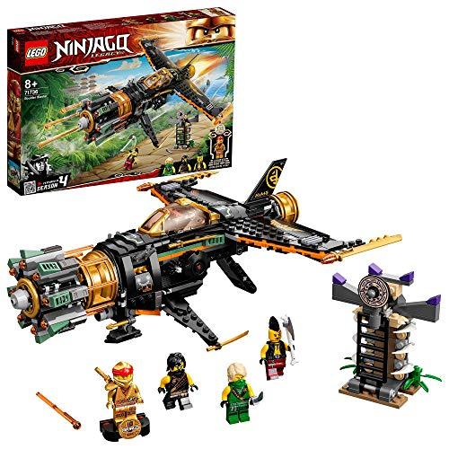 Lego Ninjago 71736 Legacy Boulder Blaster Aeroplane Toy + Prison & Collectible Gold Ninja Kai £27.08 UK Mainland Sold by Amazon EU @ Amazon