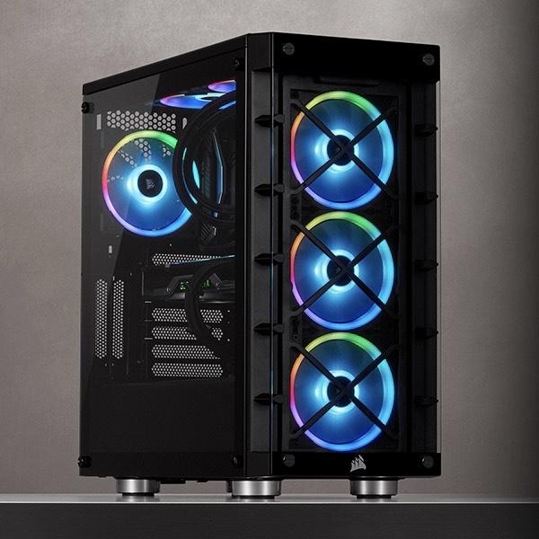 Corsair iCUE 465X RGB PC Case £70.55 @ Amazon