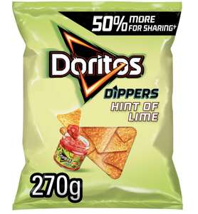 Doritos Tortilla Chips 230g various flavours for £1.25 in store and online (Minimum Basket / Delivery Fees Apply) at Sainsbury's