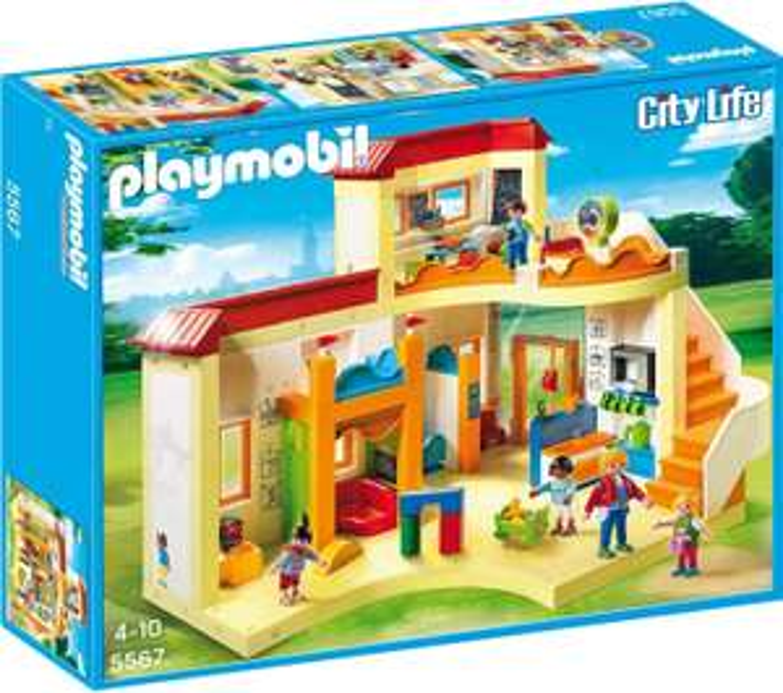 PLAYMOBIL City Life 5567 Sunshine Preschool Amazon