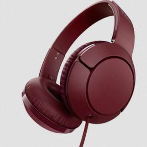 TCL MTRO200 Headset Wired Headphones with Mic (Burgundy / White) - £4 with code @ Stock Must Go
