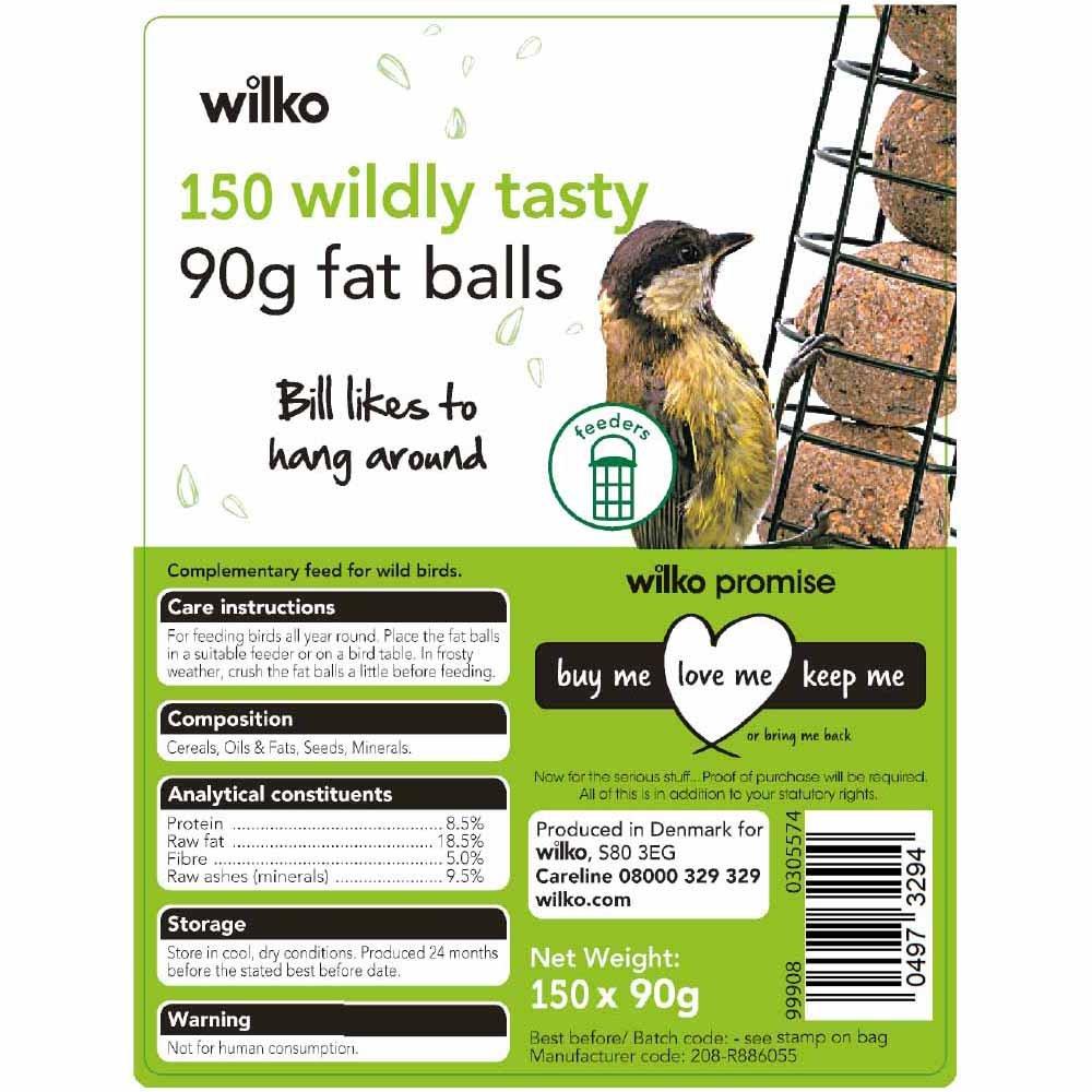 Wilko 150 Wildly Tasty 90g Fat Balls - £2.75 @ Wilko Deepdale Retail Park Preston