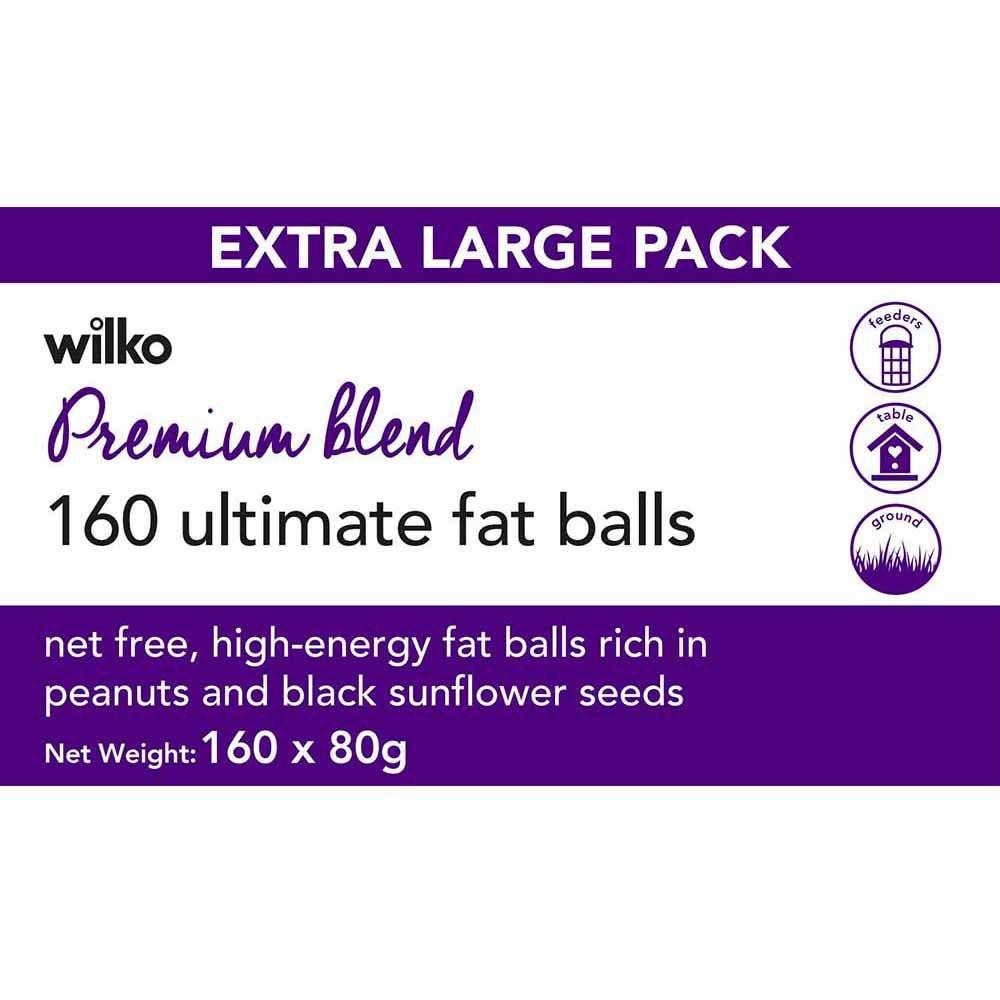 Wilko 160 Premium Blend Ultimate 80g Fat Balls - £4.50 @ Wilko Deepdale Retail Park Preston