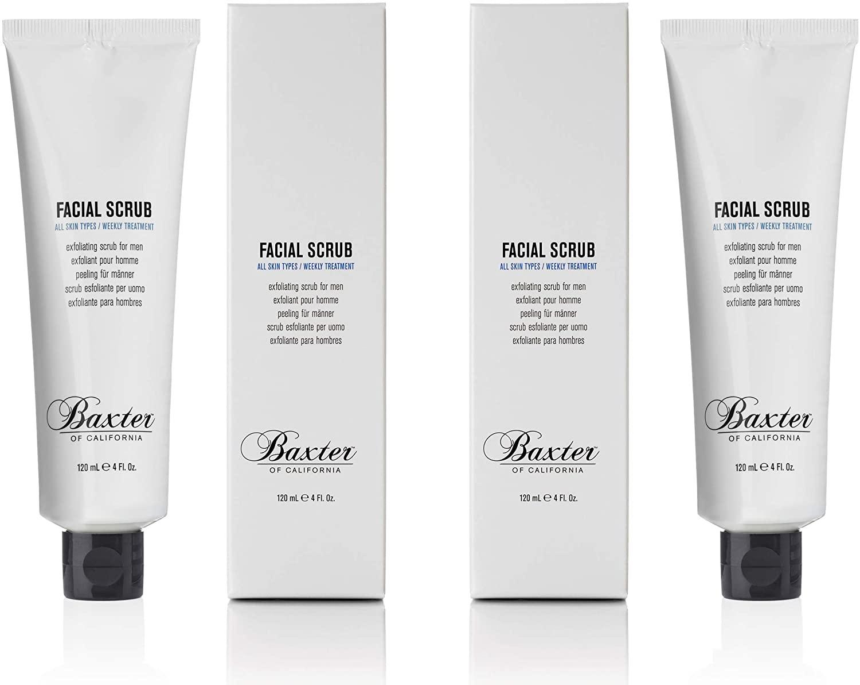Baxter of California Facial Scrub Duo £5.55 (+£4.49 Non Prime) @ Amazon