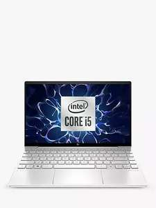 """HP ENVY 13-ba0002na Laptop Intel Core i5 8GB RAM, 512GB SSD, 13.3"""", Full HD with HP Sure View, Natural Silver £709.99 John Lewis & Partners"""