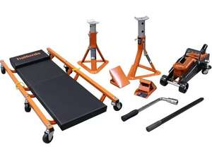 Halfords 5 Piece Lifting Kit £61.20 (possibly £55.08) delivered with code (UK mainland) @ Halfords