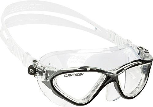 Cressi Skylight or Planet Premium Anti Fog Adult Swim Goggles Mask in Clear Black/Silver - £7.61 (+£4.49 Non-Prime) @ Amazon