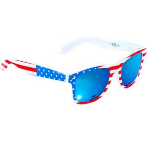 USA Stars & Stripes Blue Mirror Festival Sunglasses - £1.99 (+£4.49 Non Prime) @ Sold by RetailZone Ltd and Fulfilled by Amazon.