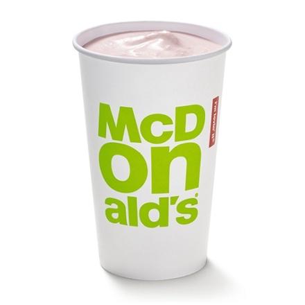McDonald's Monday 07/06 - Medium Milkshake 99p / Free McCafe hot drink when you order a Bacon roll via app @ McDonald's