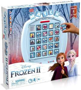 Top Trumps Frozen 2 Match Board Game £5.31/Toy story 4 £6.93 (+£4.49 p&p non prime) @ Amazon