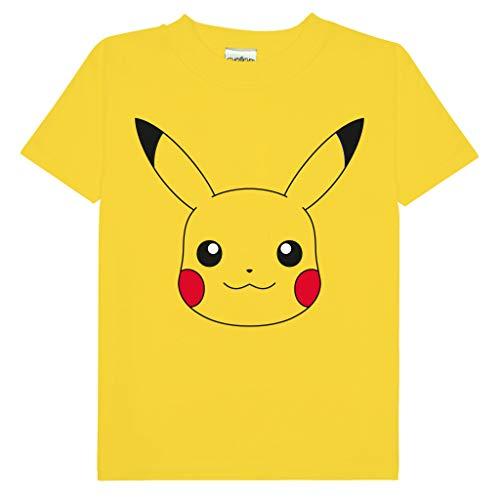 Pokemon Pikachu T-shirt Kids £7.69 /adults £11.19 using voucher (+£4.49 non-prime) @ Amazon
