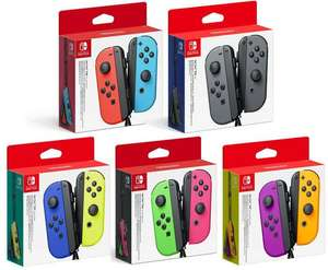 Nintendo Switch Joy-Con Controller Pair Various Colours Used Grade B £40.49 delivered with code @ Stock Must Go