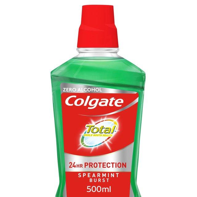 Colgate Total Spearmint or Peppermint Burst Mouthwash with CPC 500ml £2 @ Morrisons