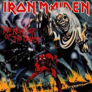Iron Maiden The Number Of The Beast Vinyl Record £11.20 delivered from musicroom