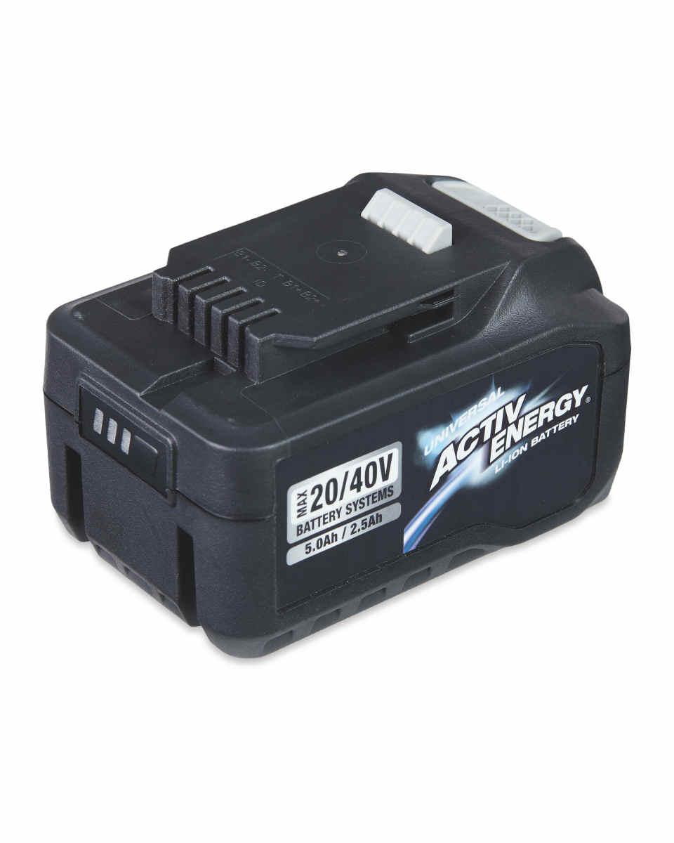Activ Energy 20/40V Battery £30 (£2.95 delivery) @ Aldi