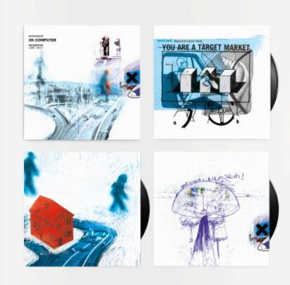 Radiohead Ok Computer, Oknotok 3 x LP Vinyl £16.10 @ Musicroom