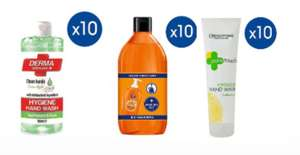 Pack of 10 Fa liquid refills / Mellor &Russell derma apple / Creighton pure touch hand wash £4.80 + Free Click & collect @Boots
