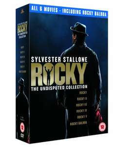 Sylvester Stallone - Rocky: The Undisputed Collection DVD (used) £3.23 delivered with code @ World of Books