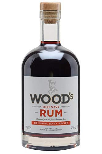 Woods Old Navy Rum 70 cl 57% vol. £20 delivered @ Amazon