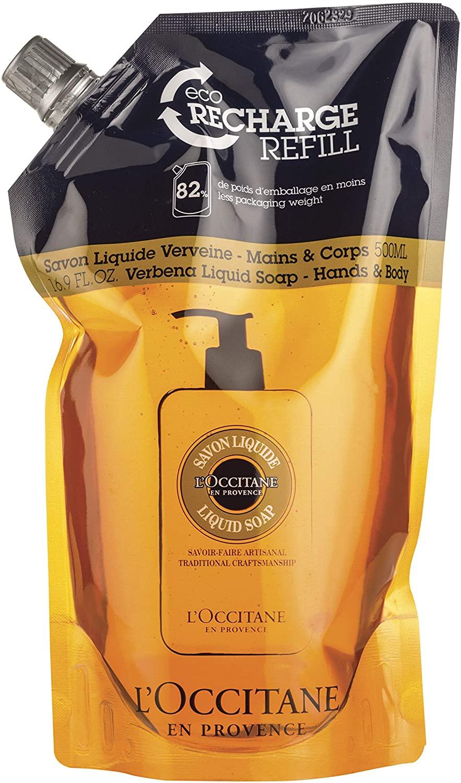 L'Occitane Shea Verbena Hands & Body Liquid Soap Refill 500 ml £7.92 (+£4.49 Non Prime) @ Amazon