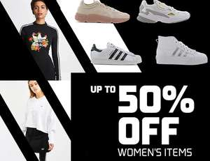 Up to 50% off selected Women's Adidas items - Free delivery for FLX members @ Footlocker