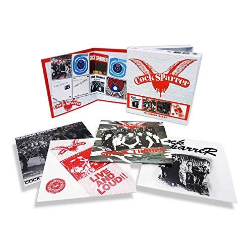 Cock Sparrer - The Albums 1978-87 - 1st 4 ablums CD box set £15.49 @ Amazon
