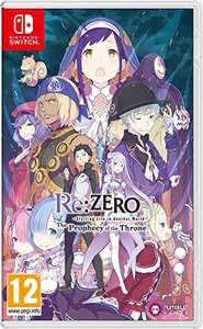 Re:ZERO - Starting Life in Another World: The Prophecy of the Throne for the Nintendo Switch £17.38 @ Amazon