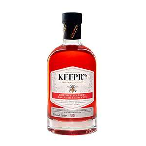 Keepr's Gin Infused with British Strawberry, Lavender & Honey, 70cl - £21.28 @ Amazon