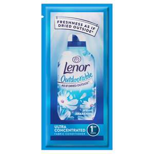 Free Lenor Outdoorables Sample 28ml @ SuperSavvyMe
