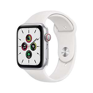 Apple Watch SE GPS + Cellular, 44mm Silver Aluminium Case with White Sport Band £264.33 Amazon