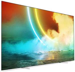 """Philips Ambilight 65OLED705/12 (2021) 65"""" Smart 4K Ultra HD HDR OLED TV with Google Assistant for £1124 with code @ Currys PC World"""