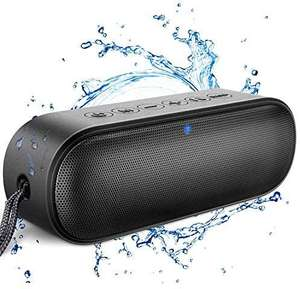 Lenrue Bluetooth Speaker IPX7 Waterproof Portable Rich Bass, 14W HD Sound 20-Hour Playtime £25.49 Sold by Meguo-UK & Fulfilled by Amazon