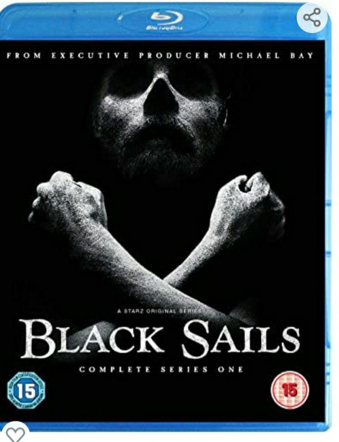 Black sails season 1 bluray £3.43 (+£2.99 nonPrime) from amazon