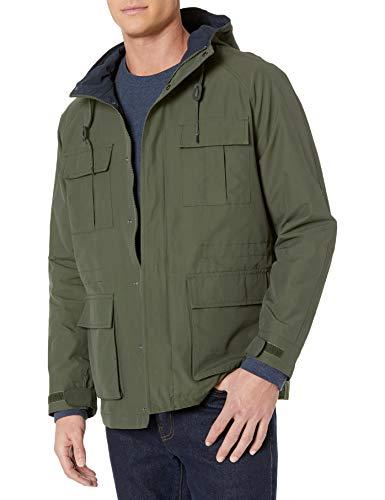 Amazon Essentials Men's Lightweight Mountain Parka Jacket (XS) Olive - £7.10 (+ £4.49 non Prime) @ Amazon