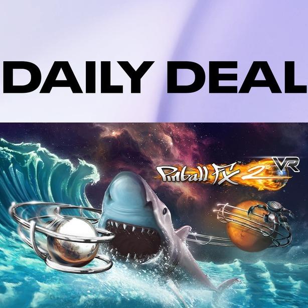 Oculus Daily Deal: Pinball FX2 VR £8.99 Oculus