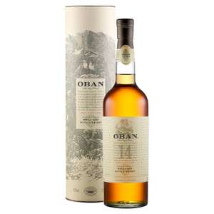 Oban 14 Year Old Single Malt Scotch Whisky 70cl £27.24 + Free Delivery Lower with MALTS10 code @ Malts