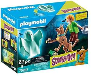 Playmobil 70287 SCOOBY-DOO!© Scooby and Shaggy with Ghost @ Amazon
