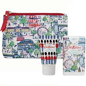 Cath Kidston Beauty London View Cosmetic Travel Pouch Gift Set £7.33 (Prime) + £4.49 (non Prime) at Amazon