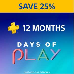 PlayStation Plus PS+ 12 Month Membership £20.65 @ PlayStation Store PSN Indonesia