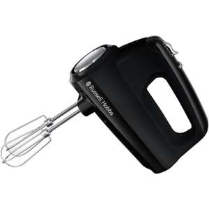 Russell Hobbs Desire 24672 Hand Mixer with 4 Accessories - Black £15 @ AO (UK Mainland)