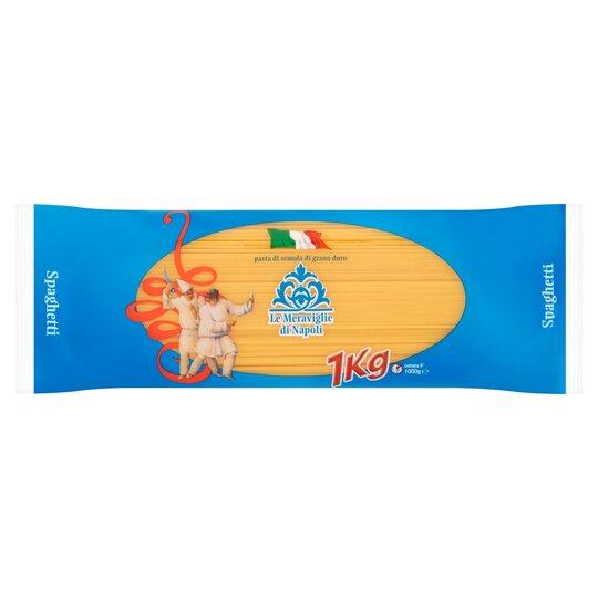Le Meraviglie Di Napoli Spaghetti 1Kg - £0.10 at Tesco Broughton