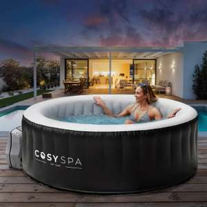 CosySpa Inflatable Hot Tub 2-4 people [New Upgraded 2021 Model] £299.99 + £24.95 delivery at Networld Sports