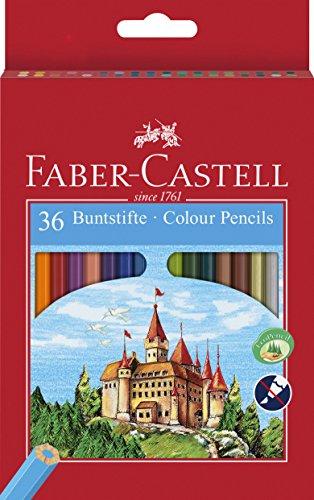Faber-Castell 36-Colour Eco-Pencils £2.82 (Prime) + £4.49 (non Prime) at Amazon