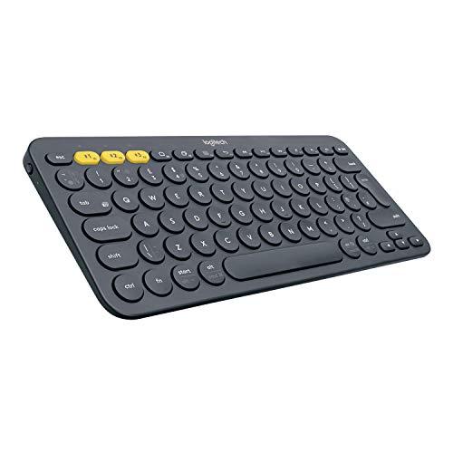Logitech K380 Wireless Multi-Device Keyboard, QWERTY - Black £17.80 (+£4.49 nonPrime) @ Amazon