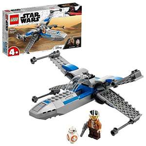 LEGO Star Wars 75297 Resistance X-Wing Starfighter with Poe Dameron Minifigure and BB-8 Droid - £14.99 (+£4.49 Non Prime) @ Amazon