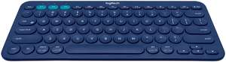 Logitech K380 Wireless Multi-Device Keyboard, QWERTY ITALIAN Layout - Blue £15.16 (+£4.49 nonPrime) Amazon